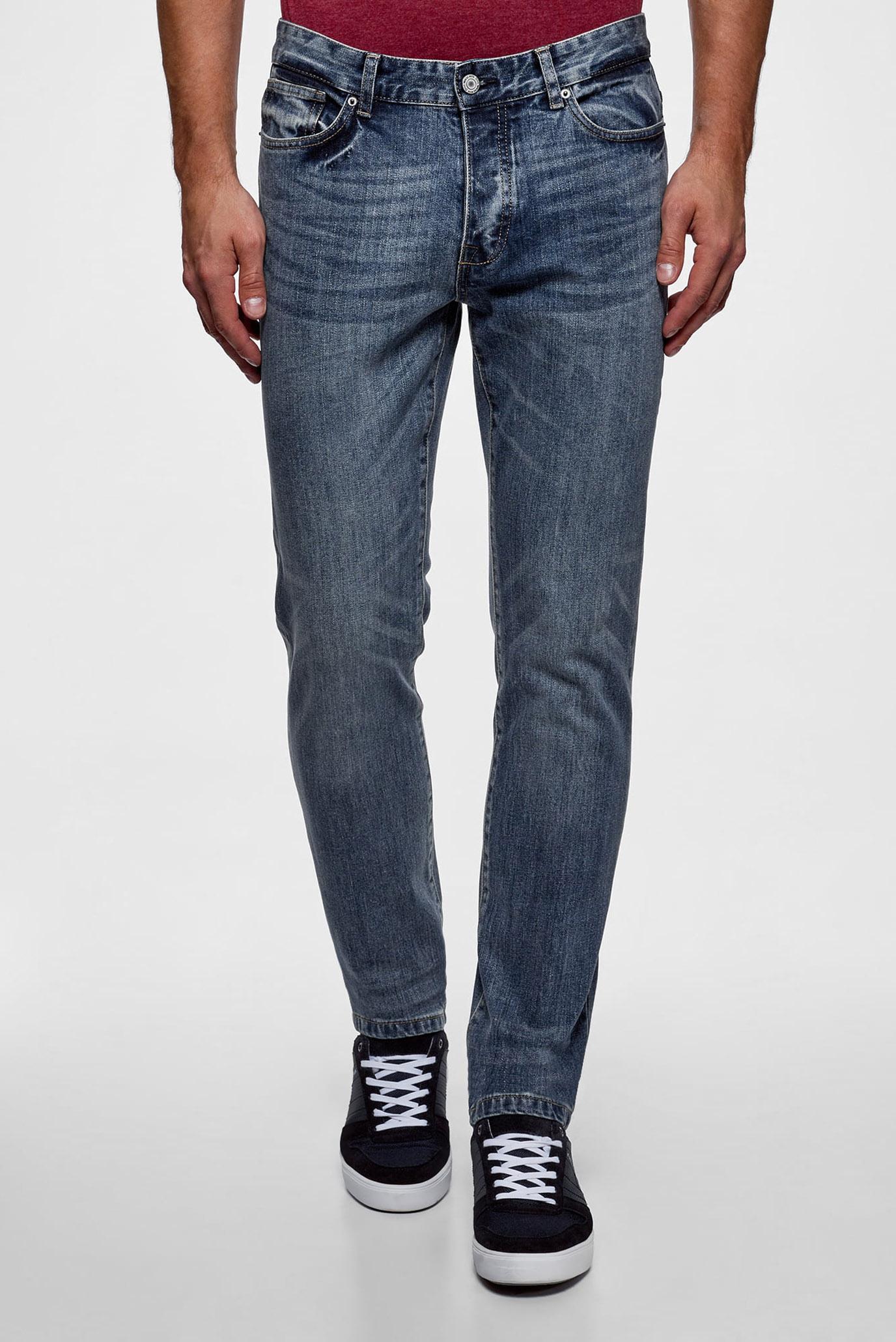 Купить Мужские синие джинсы Oodji Oodji 6B120039M/45068/7400W – Киев, Украина. Цены в интернет магазине MD Fashion