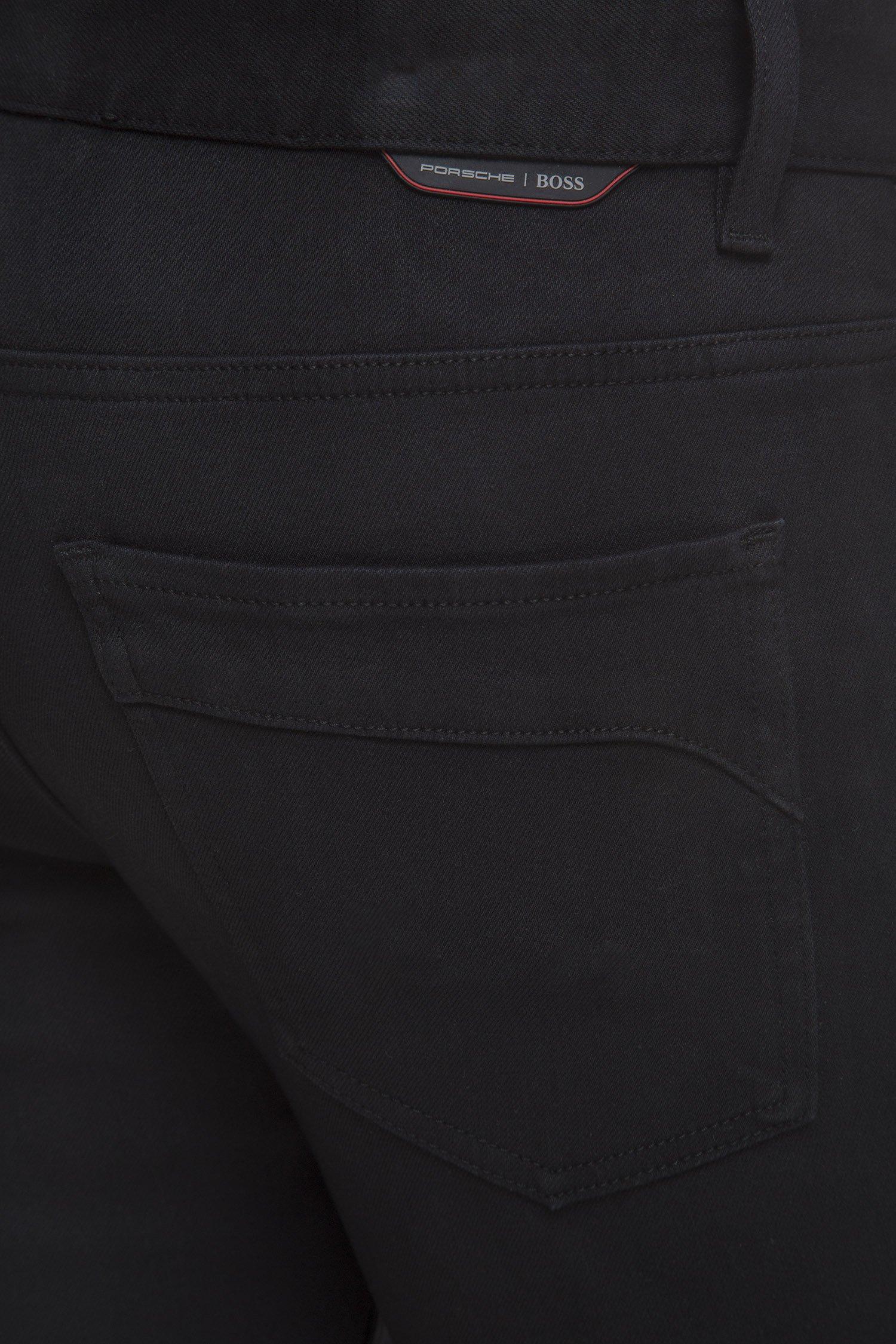Мужские черные джинсы Porsche BOSS