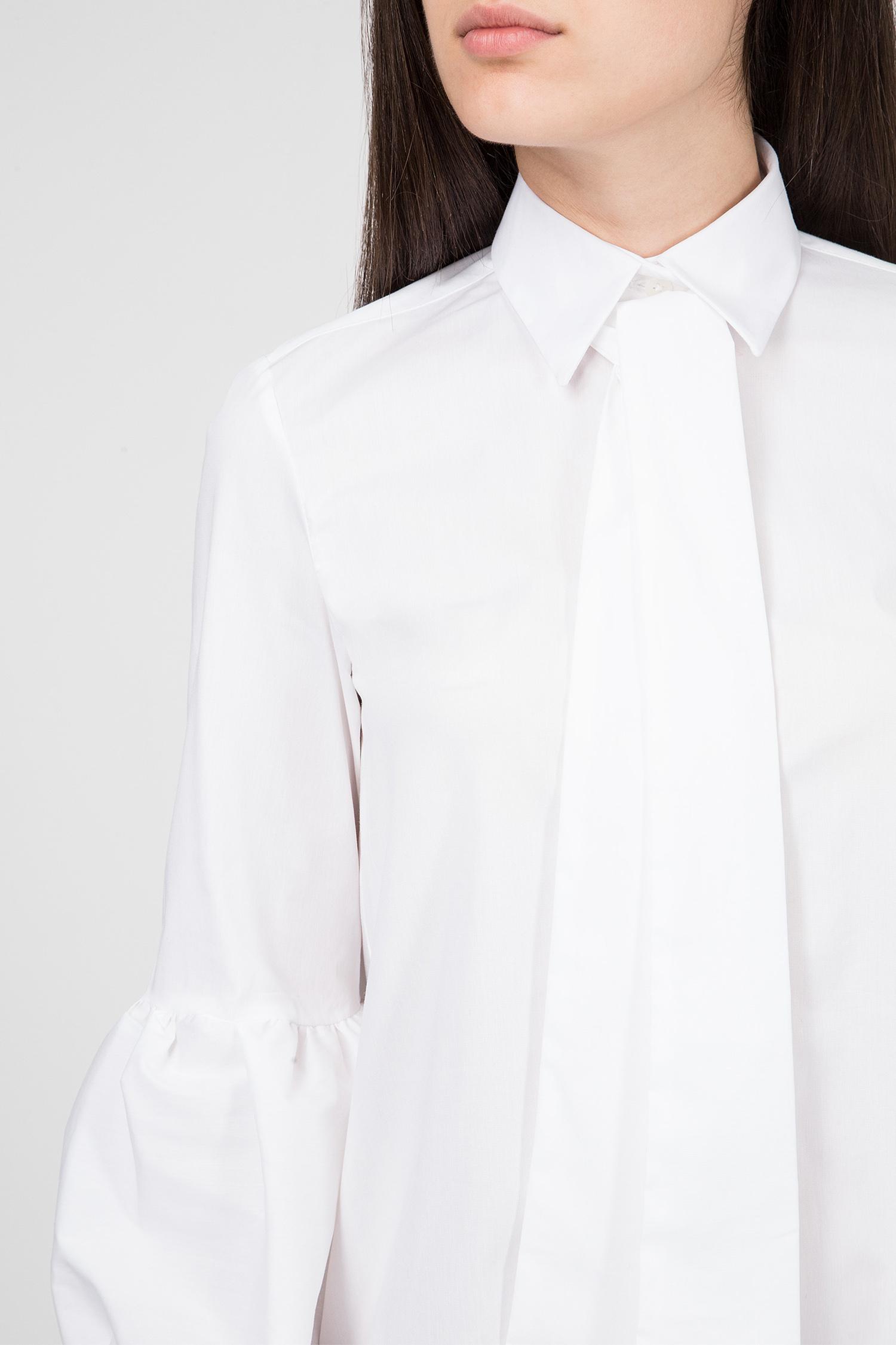 Женская белая блуза Skills & Genes
