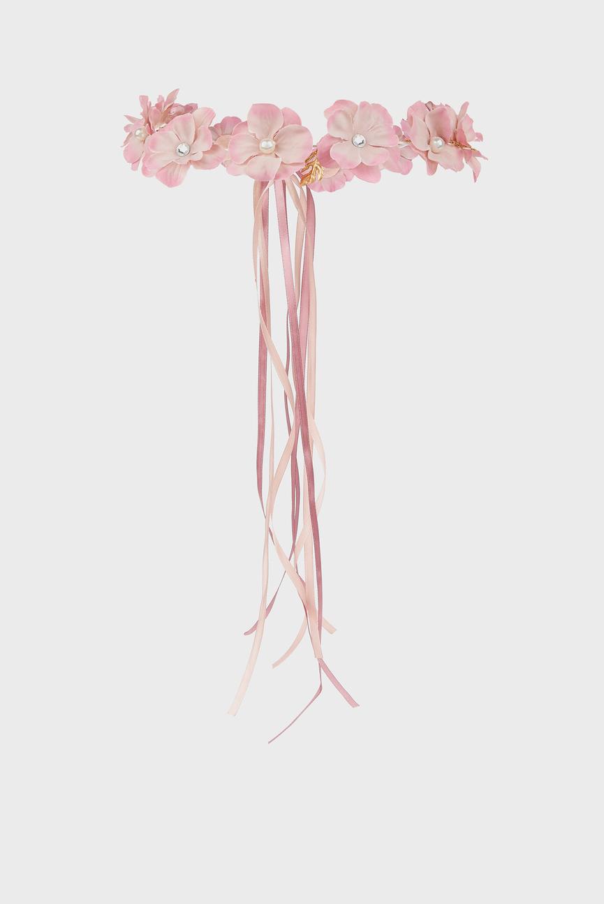 Детская розовая повязка для волос Garland