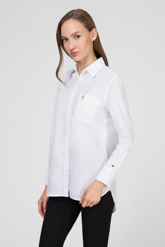 Женская белая рубашка TH ESSENTIAL GIRLFRIEND