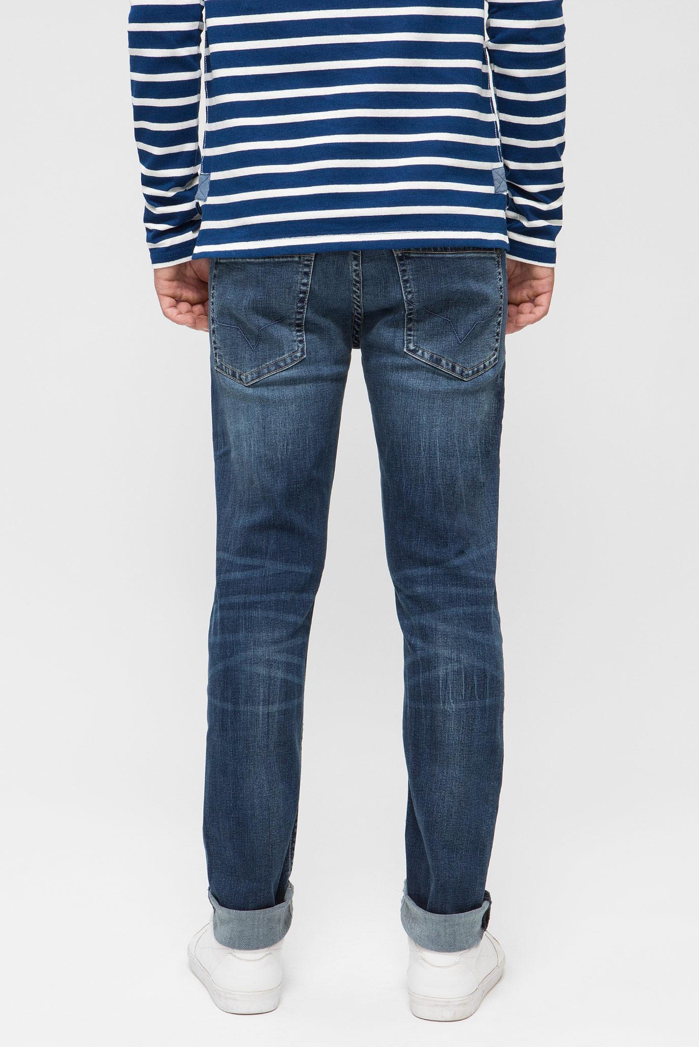 Купить Мужские синие джинсы HATCH Pepe Jeans Pepe Jeans PM200823CG12 – Киев, Украина. Цены в интернет магазине MD Fashion
