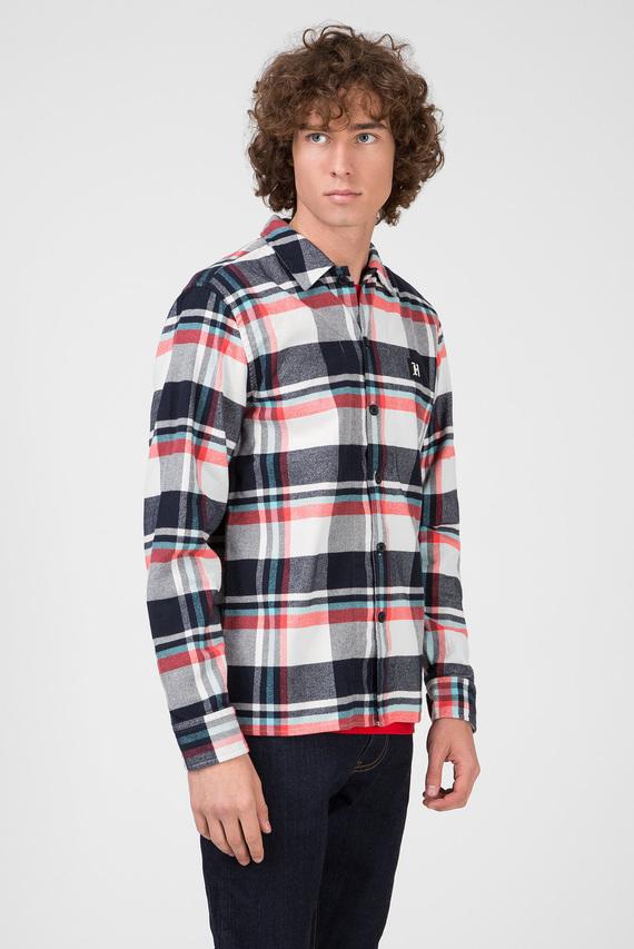 Мужская рубашка в клетку LEWIS HAMILTON CHECK OVERSHIRT