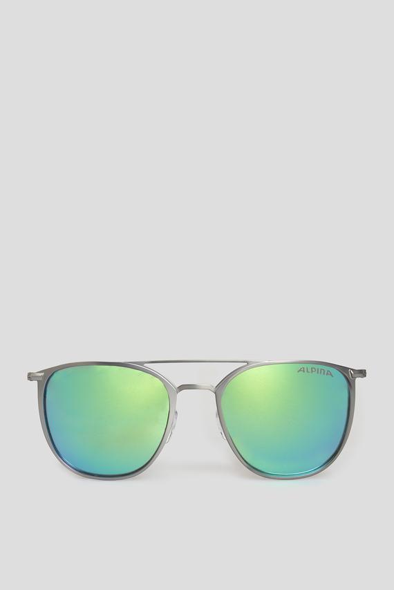 Серебристые солнцезащитные очки ZUKU