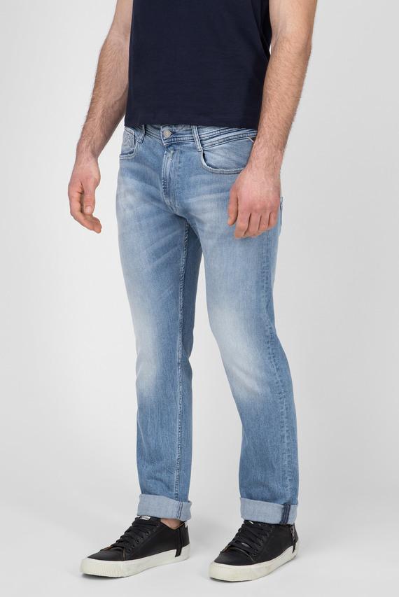Мужские голубые джинсы ROB