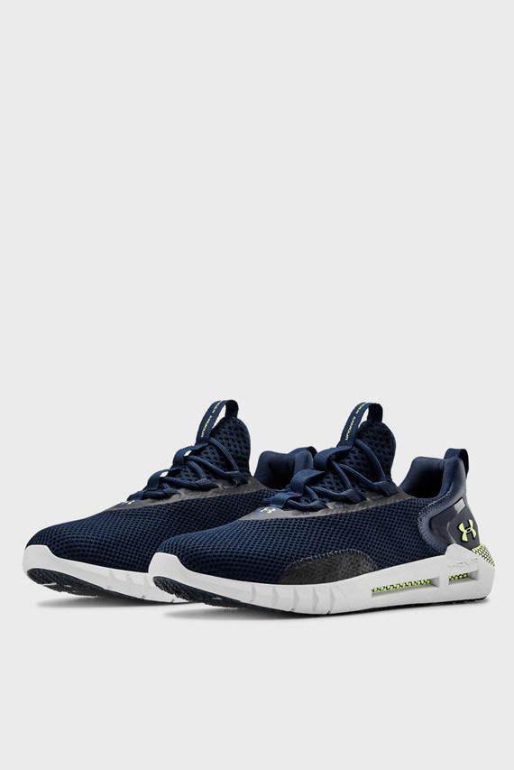 Мужские синие кроссовки UA HOVR STRT-NVY