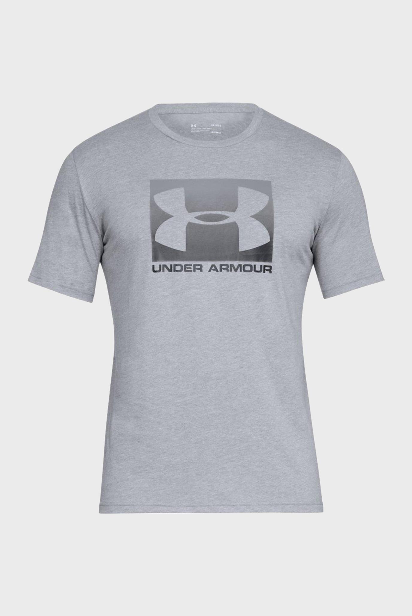 Купить Мужская серая футболка UA BOXED SPORTSTYLE SS Under Armour Under Armour 1329581-035 – Киев, Украина. Цены в интернет магазине MD Fashion