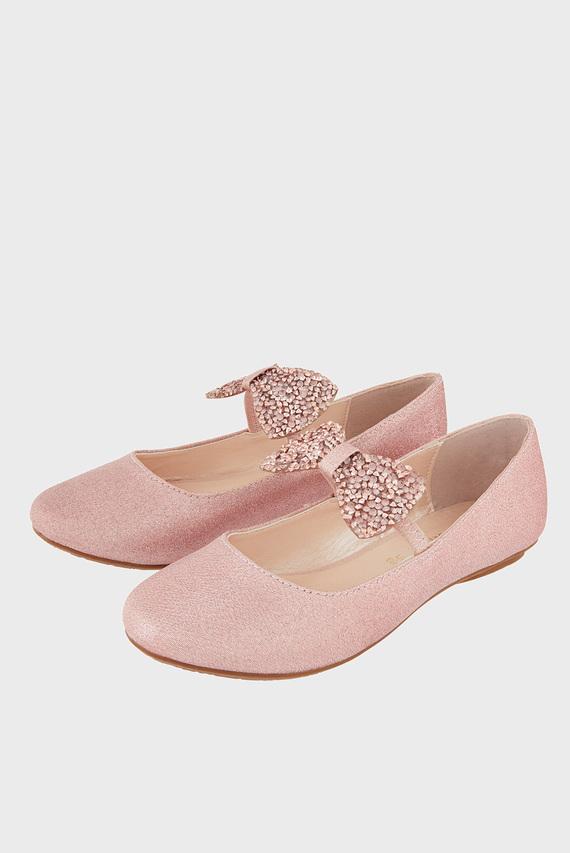 Детские розовые балетки Everly Ballerina