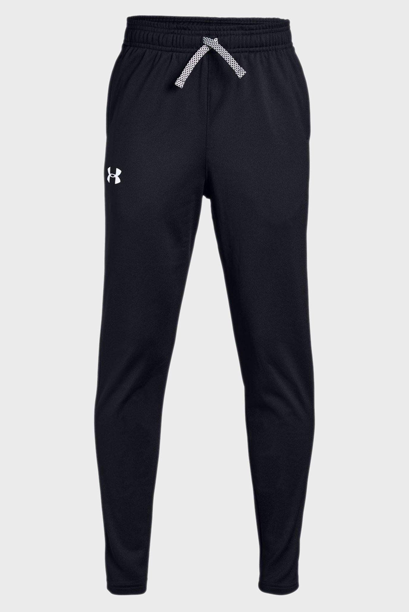 Детские черные спортивные брюки BRAWLER TAPERED PANT Under Armour