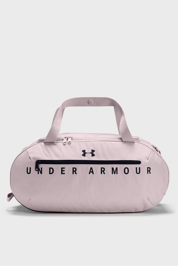 Розовая спортивная сумка UA Roland Duffel SM