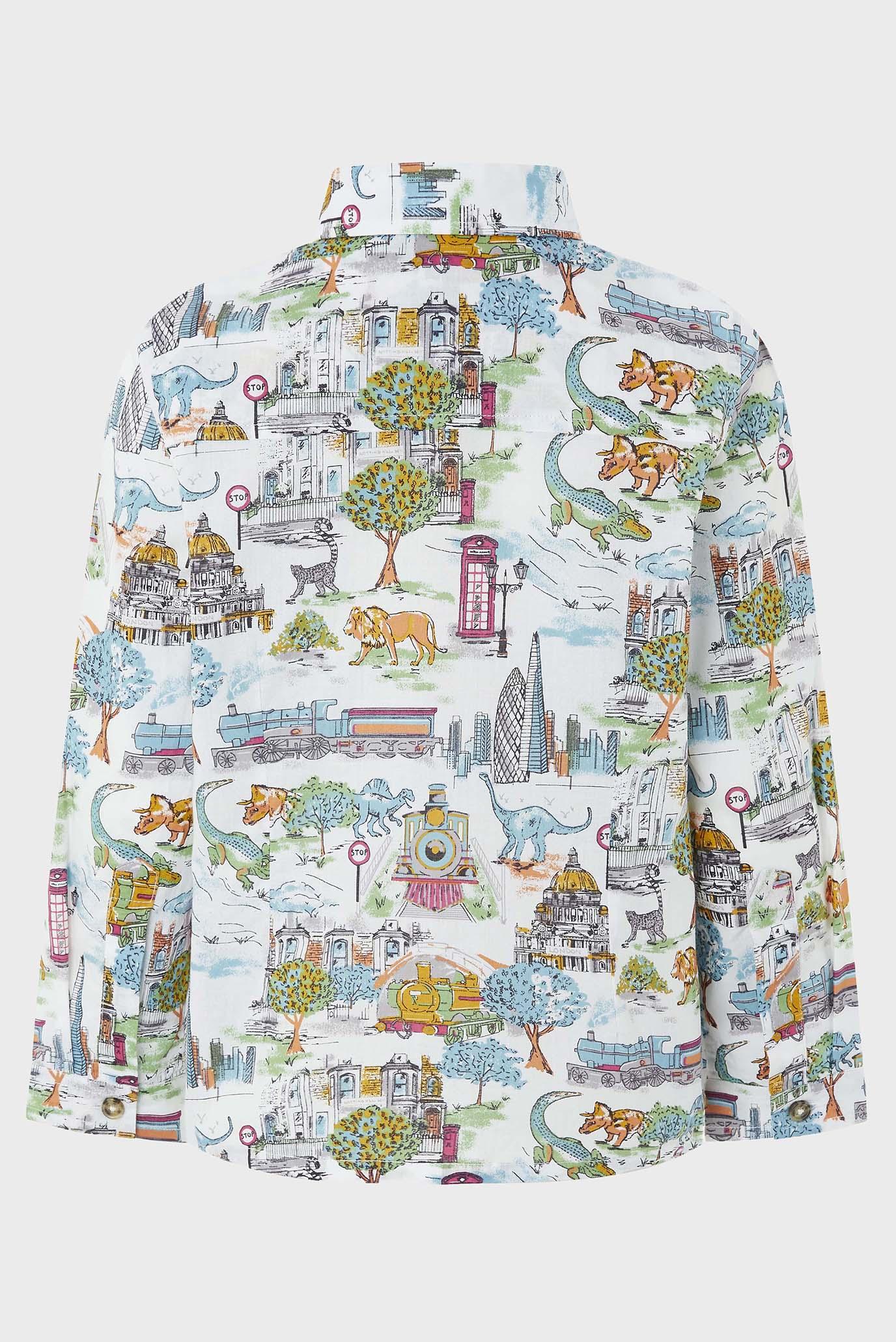 Купить Детская бежевая рубашка Charlie Safari Shirt Monsoon Children Monsoon Children 616232 – Киев, Украина. Цены в интернет магазине MD Fashion