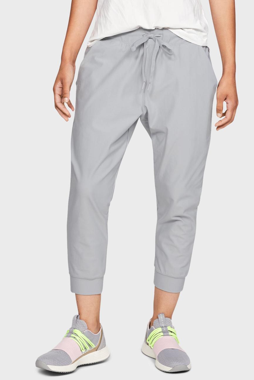 Женские серые спортивные брюки UA Vanish Jogger