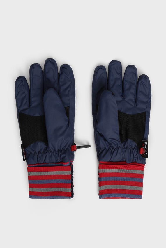 Детские синие перчатки