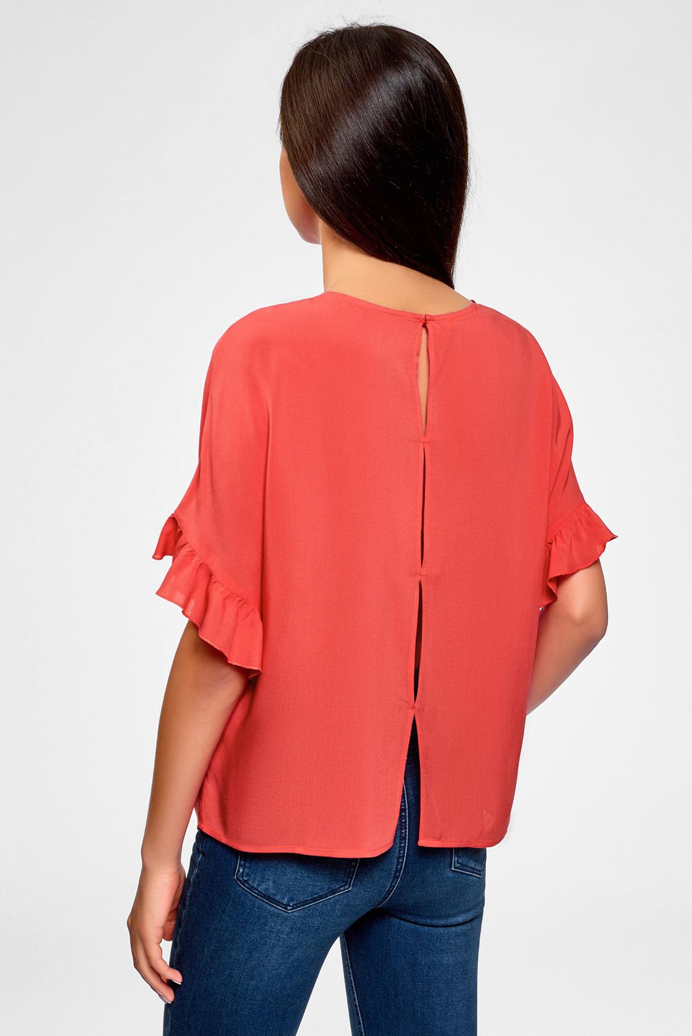 Купить Женская розовая блуза Oodji Oodji 11405138/46436/4D01N – Киев, Украина. Цены в интернет магазине MD Fashion