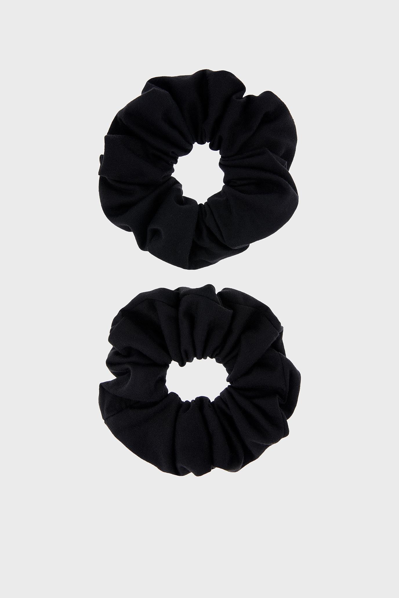 Жіночі чорні резинки для волосся (2 шт) 1