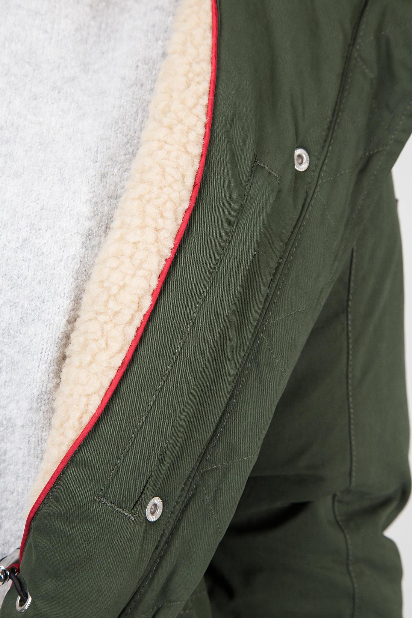 Купить Женская зеленая пуховая парка Tommy Hilfiger Tommy Hilfiger DW0DW05166 – Киев, Украина. Цены в интернет магазине MD Fashion