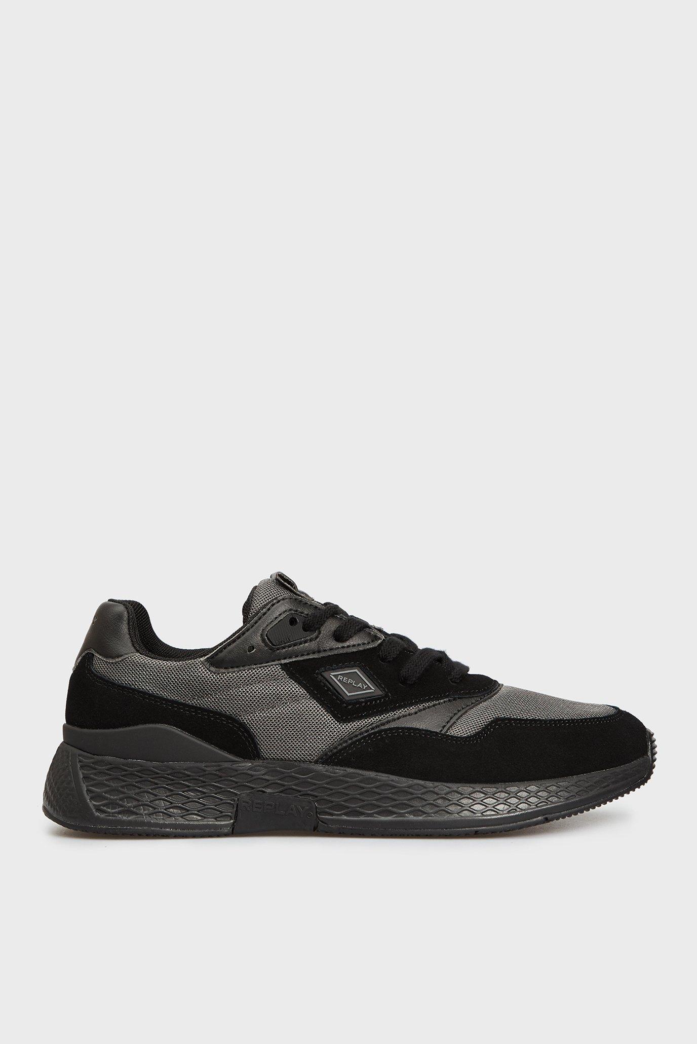 Чоловічі чорні кросівки 1