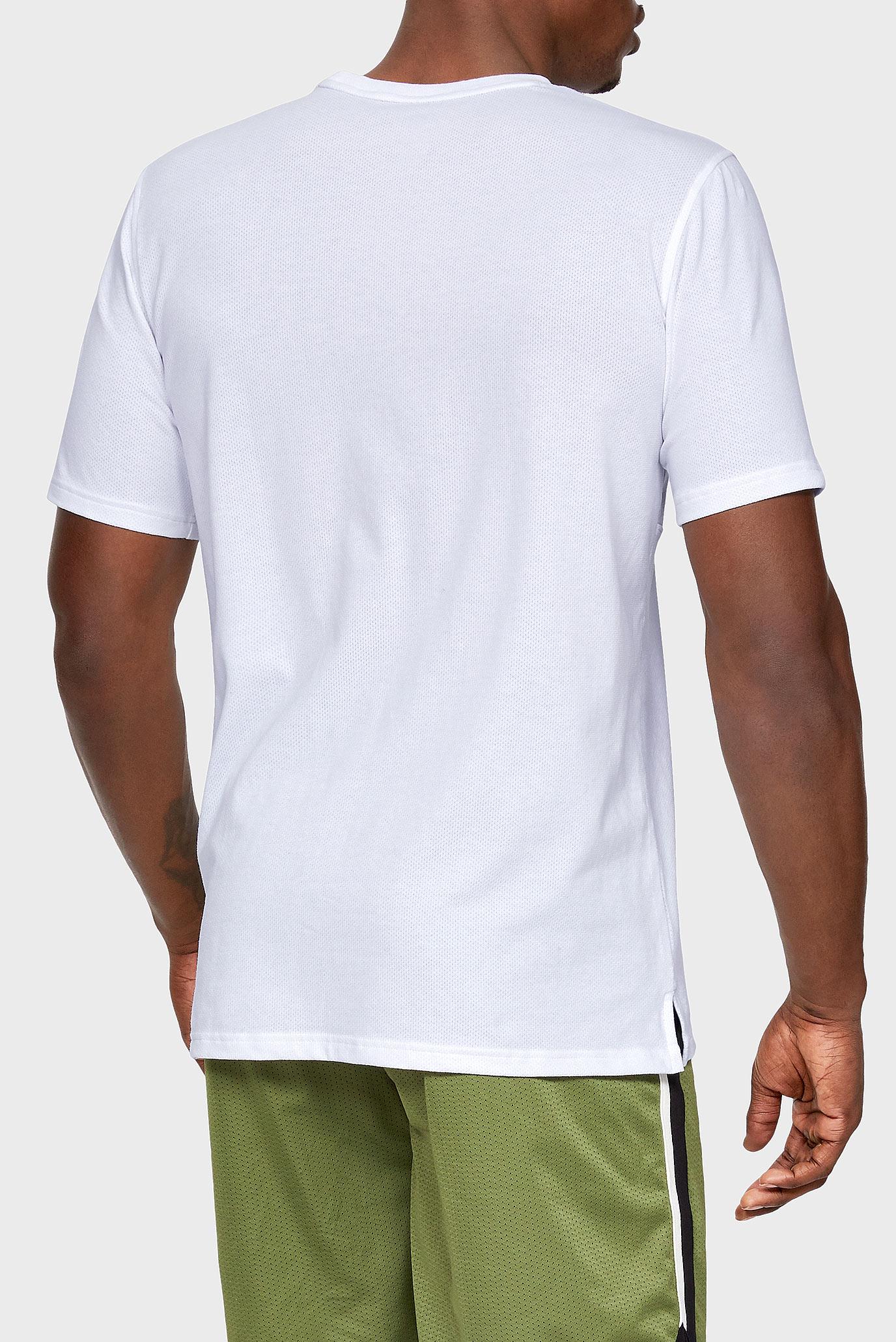 Купить Мужская белая футболка SPORTSTYLE Under Armour Under Armour 1329279-100 – Киев, Украина. Цены в интернет магазине MD Fashion