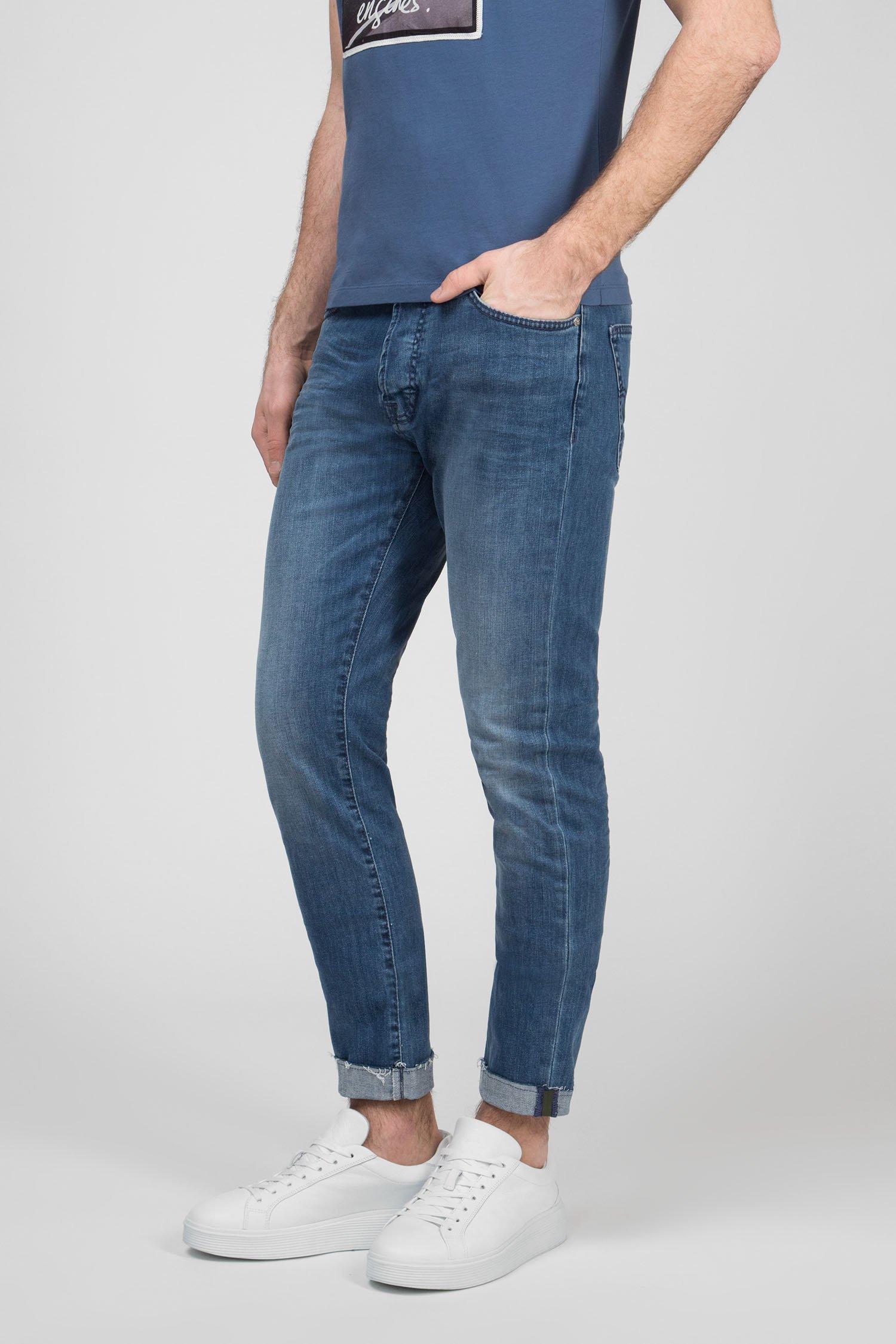 Мужские синие джинсы NORTON CARROT Gas