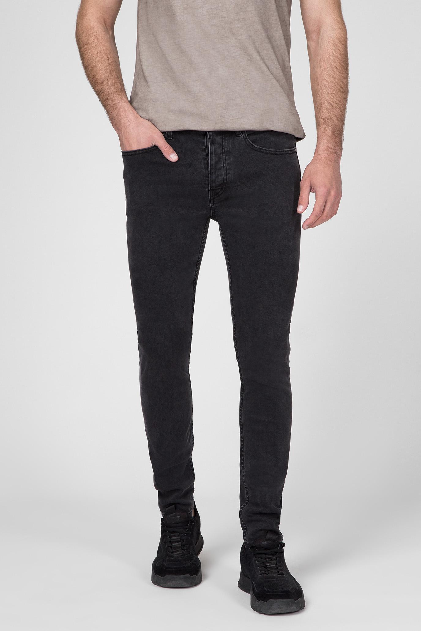 Мужские черные джинсы Robin Super Slim Fit 1