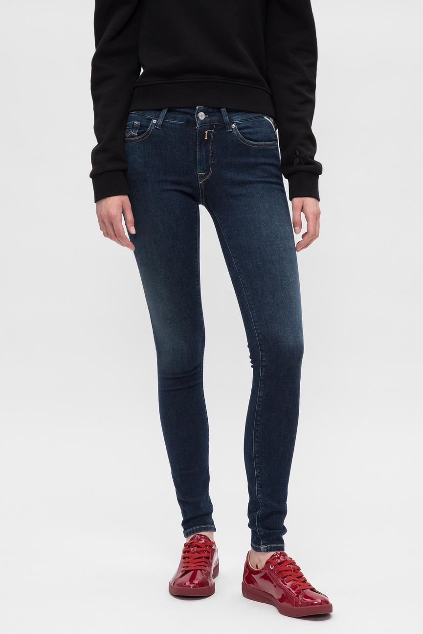 Женские темно-синие джинсы LUZ