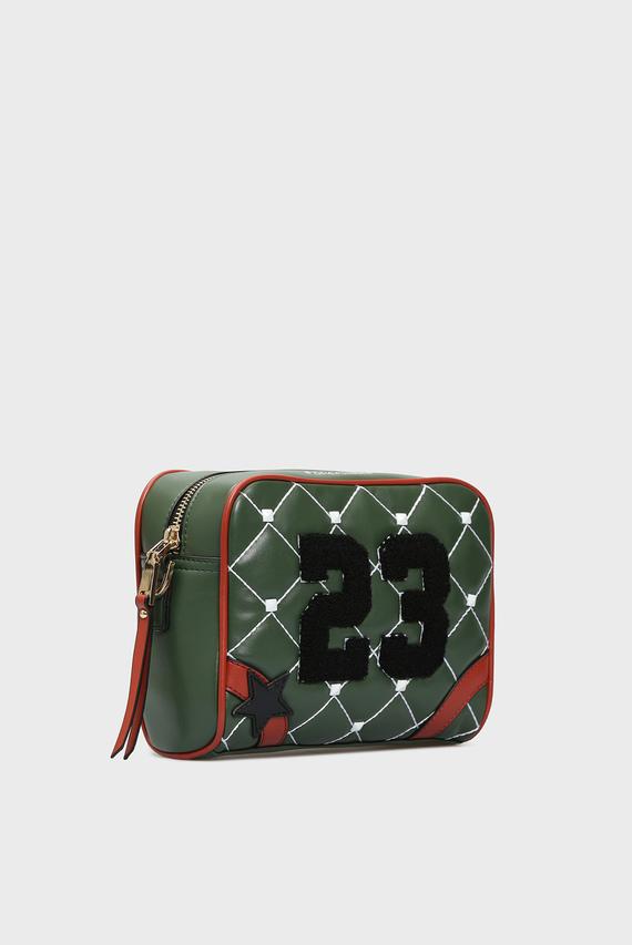 Женская зеленая сумка через плечо TWENTY-THREE