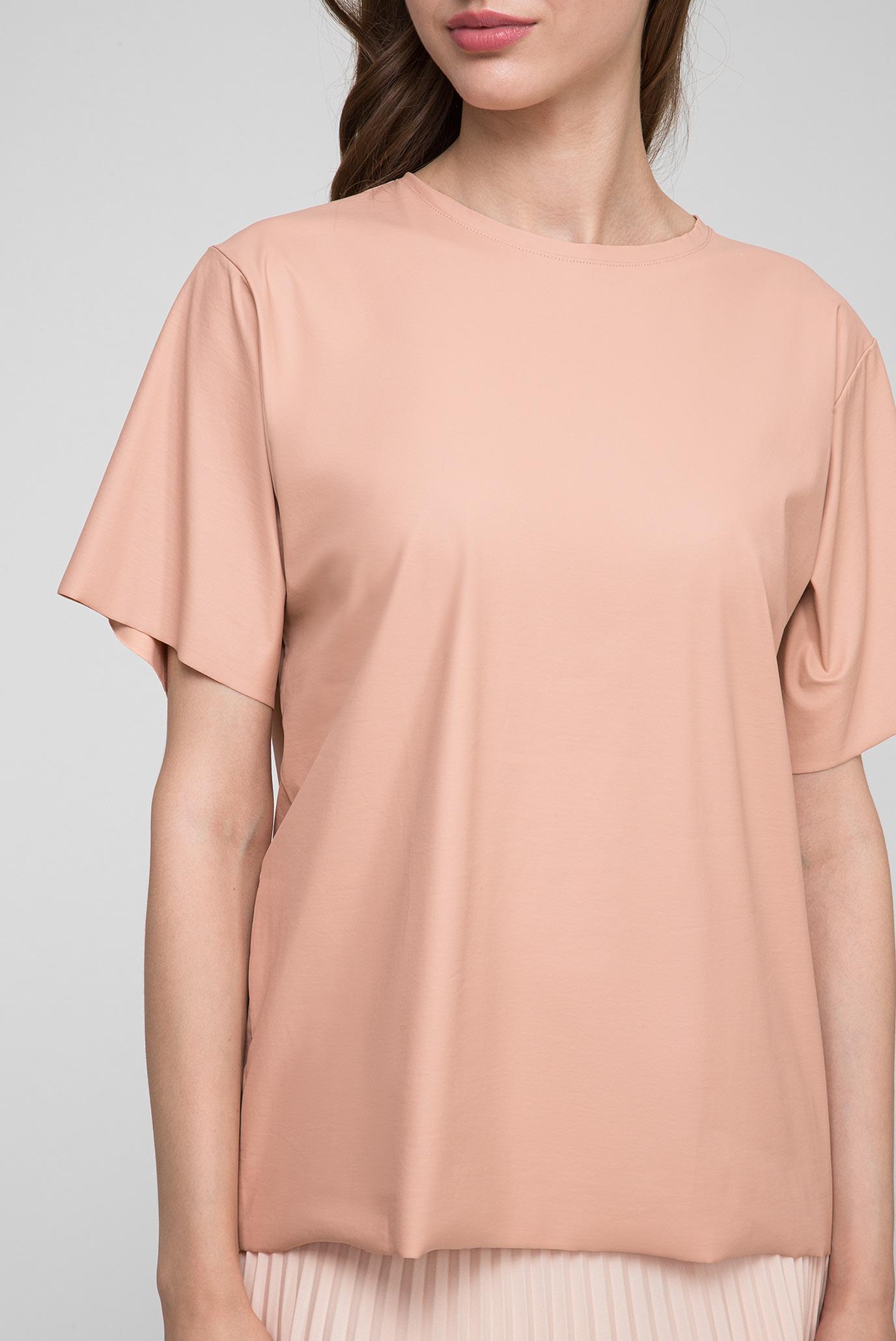 Женская пудровая блуза Calvin Klein