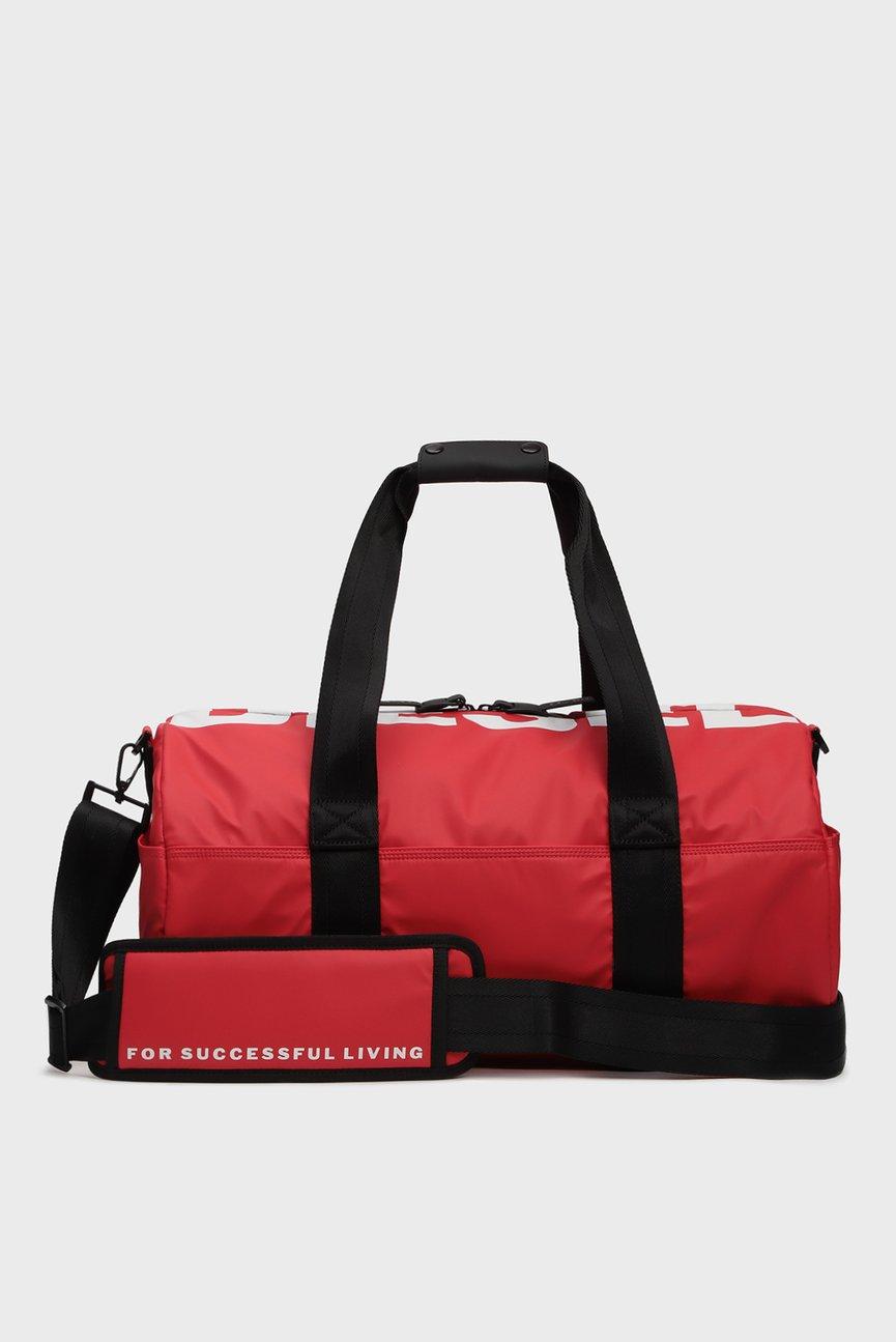 Мужская красная спортивная сумка BOLDMESSAGE