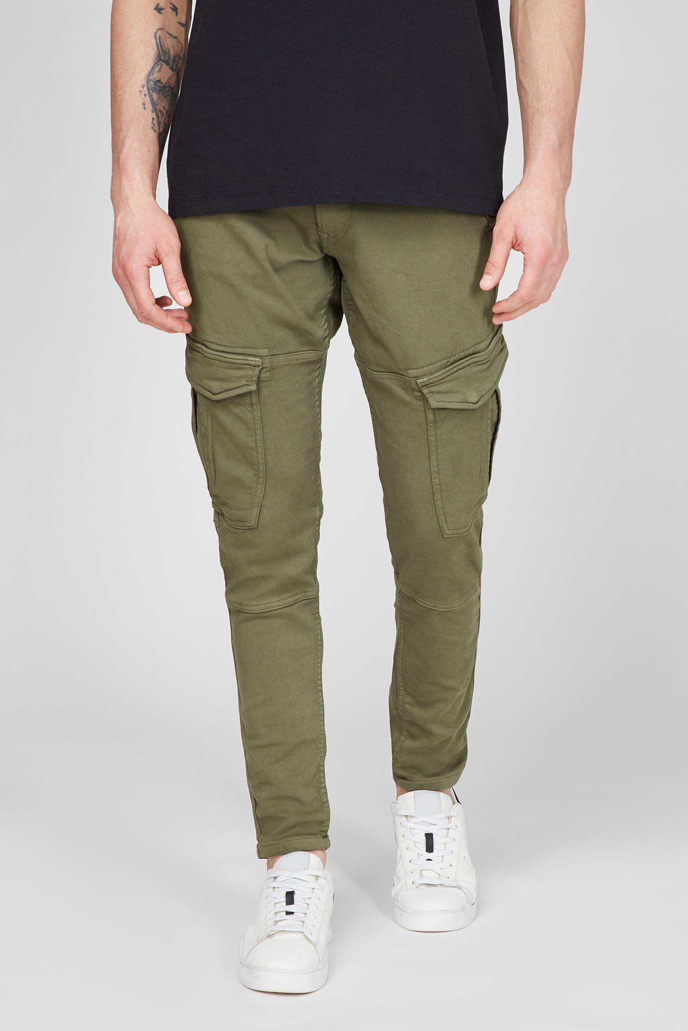 Мужские зеленые карго JARED 1