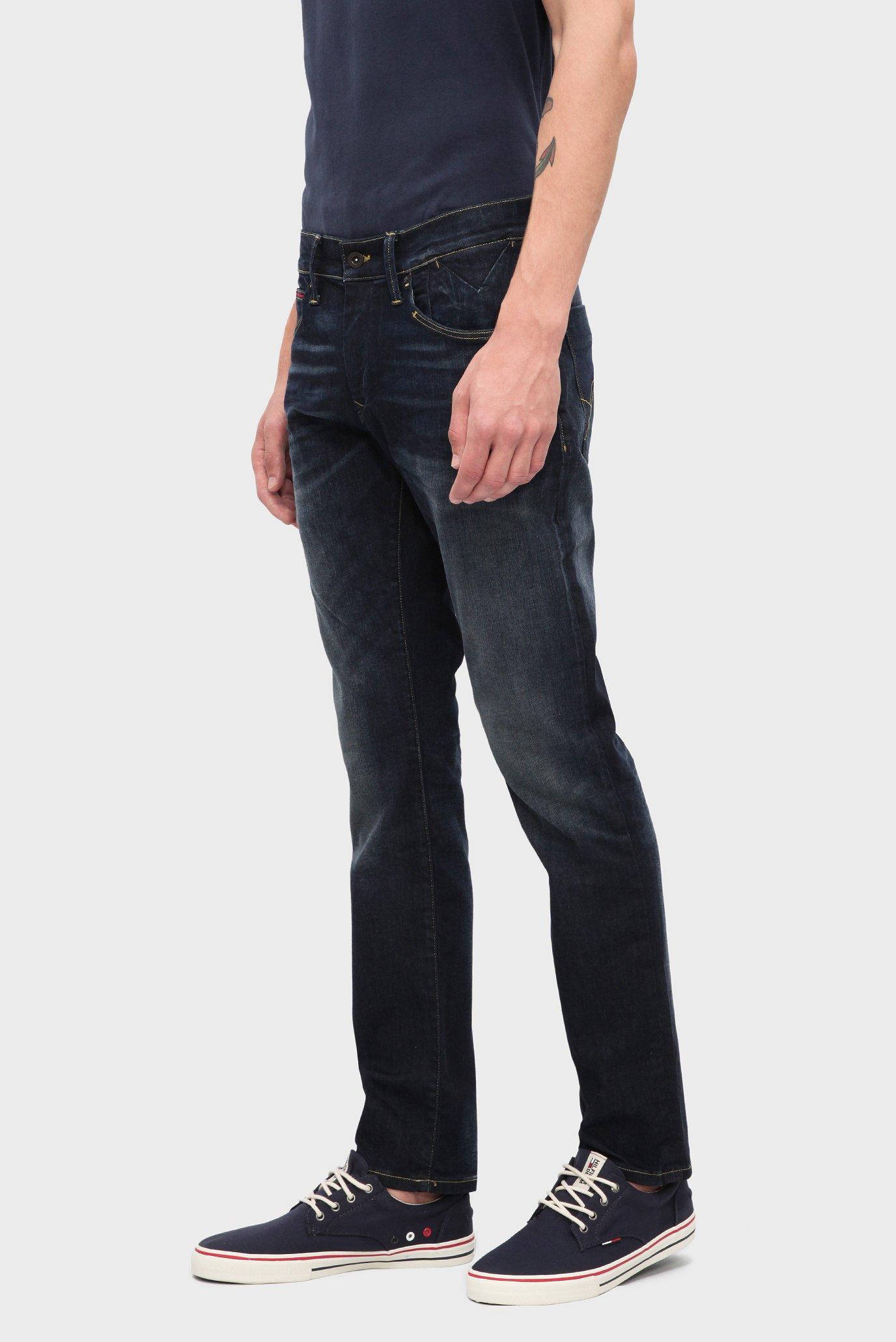 Купить Мужские темно-синие джинсы SLIM SCANTON Tommy Hilfiger Tommy Hilfiger DM0DM02546 – Киев, Украина. Цены в интернет магазине MD Fashion