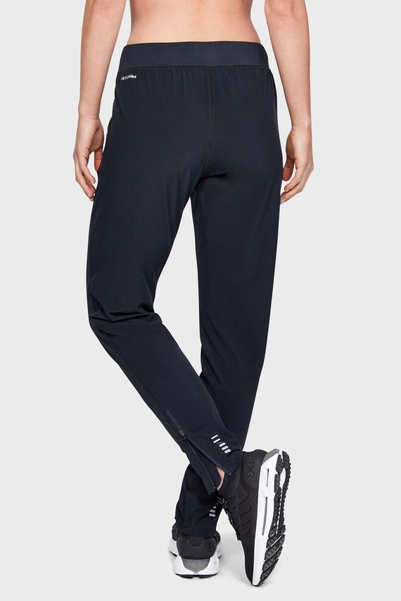 Женские черные спортивные брюки UA W Storm Launch Pant
