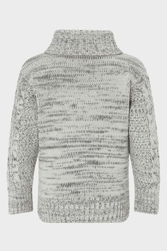 Детский серый свитер SEAN SHAUL CABLE KNI