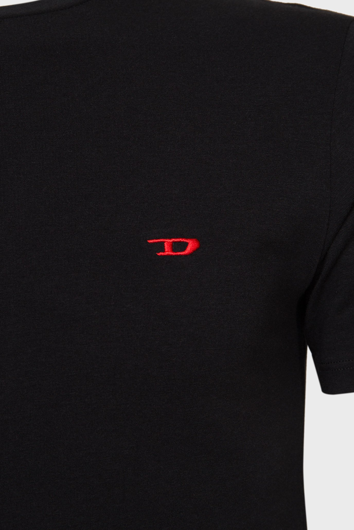 Мужская черная футболка UMTEE-RANDAL (3 шт) Diesel