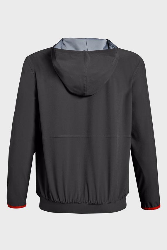 Детское серое худи Jersey Lined Woven Jacket