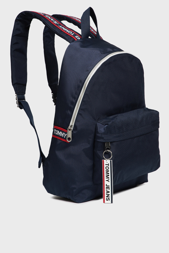 Мужской темно-синий рюкзак TJM LOGO TAPE