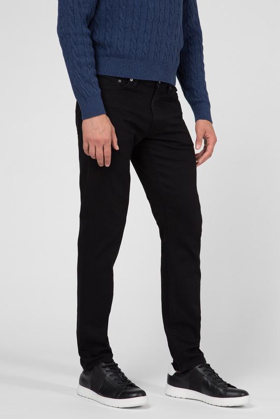 Мужские черные джинсы SLIM