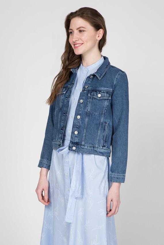 Женская синяя джинсовая куртка INDIGO