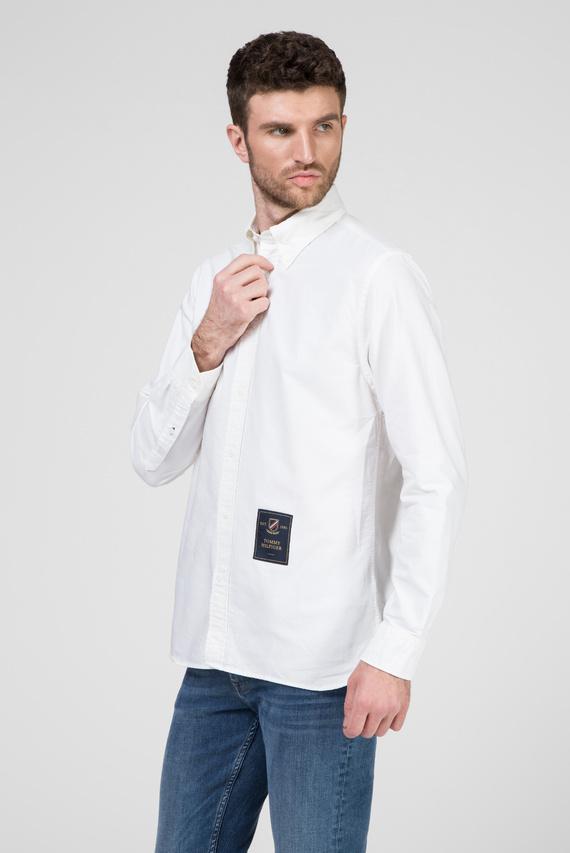 Мужская белая рубашка CREST LABEL