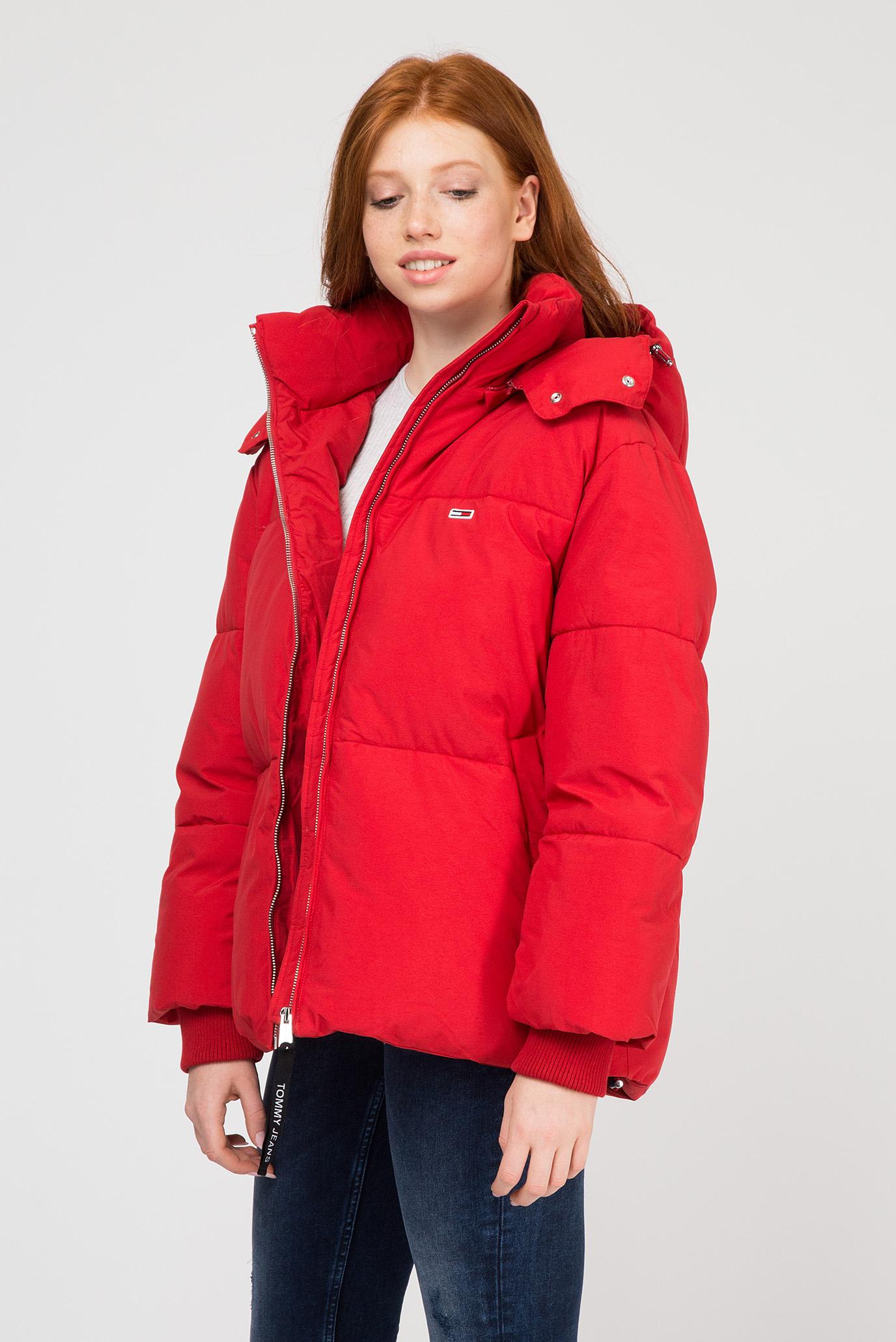 Купить Женская красная куртка Tommy Hilfiger Tommy Hilfiger DW0DW05183 – Киев, Украина. Цены в интернет магазине MD Fashion