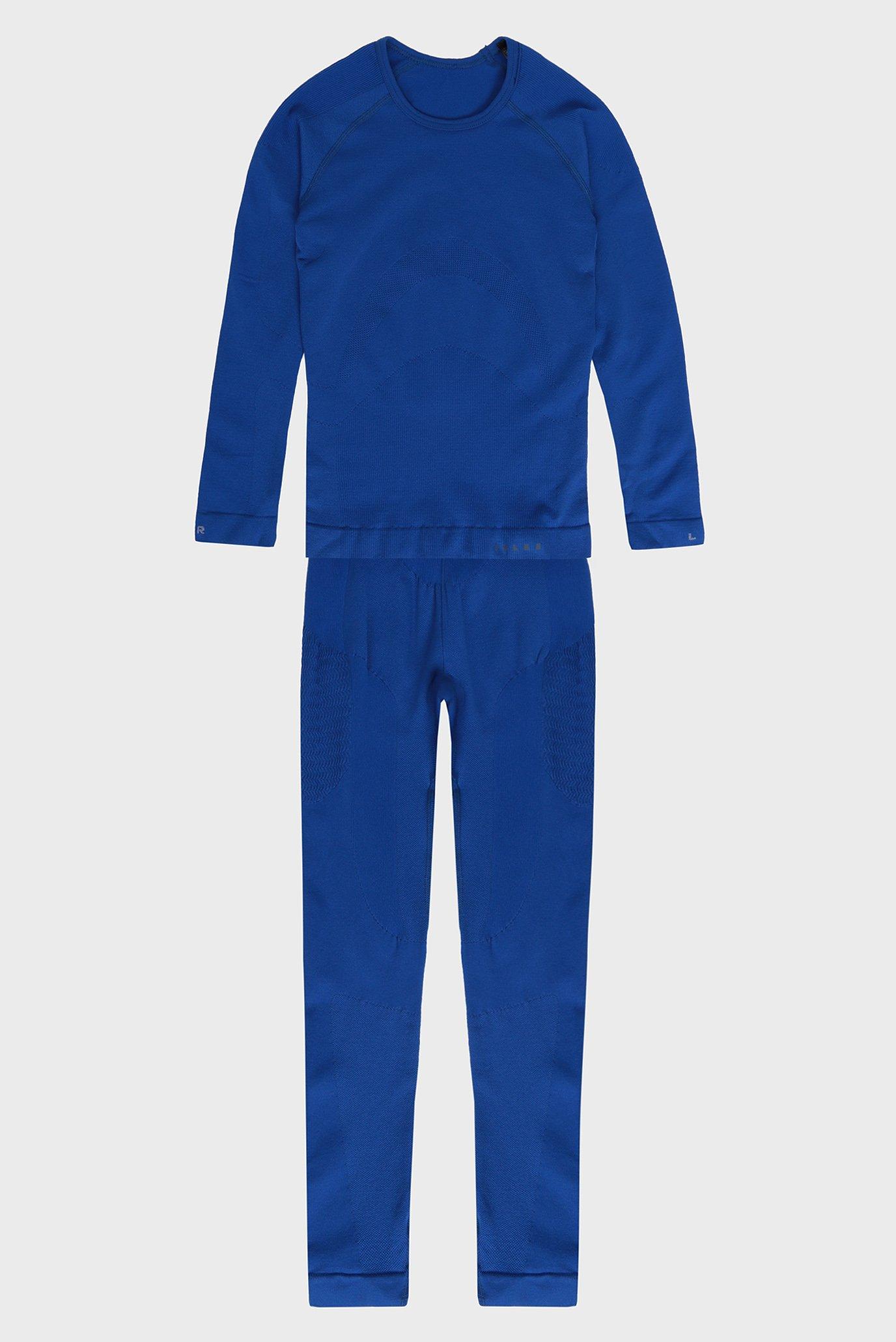 Дитяча синя термобілизна (лонгслів, брюки) Maximum Warm 1