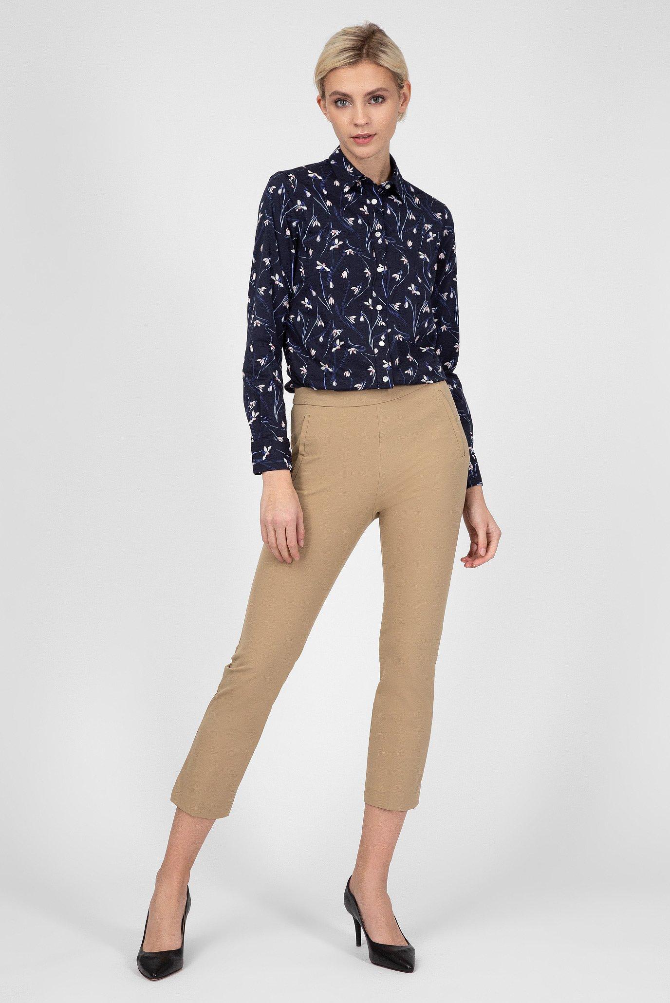 Купить Женская синяя рубашка с принтом Gant Gant 4320065 – Киев, Украина. Цены в интернет магазине MD Fashion