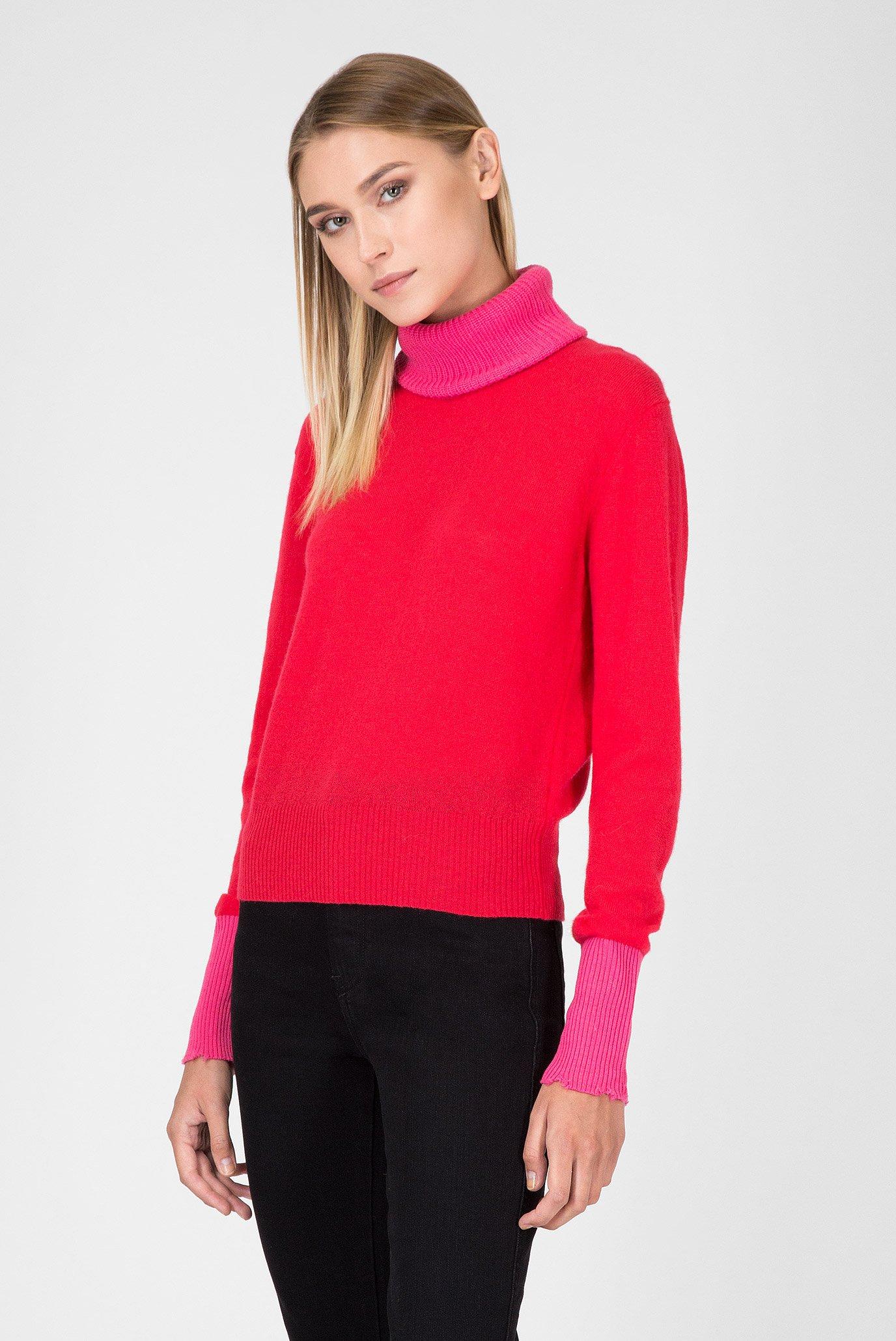 Купить Женский малиновый шерстяной свитер Diesel Diesel 00SH5S 0JAJJ – Киев, Украина. Цены в интернет магазине MD Fashion