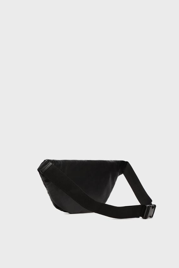 Мужская кожаная поясная сумка