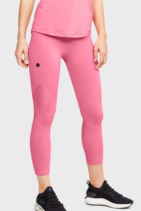 Женские розовые тайтсы UA Rush