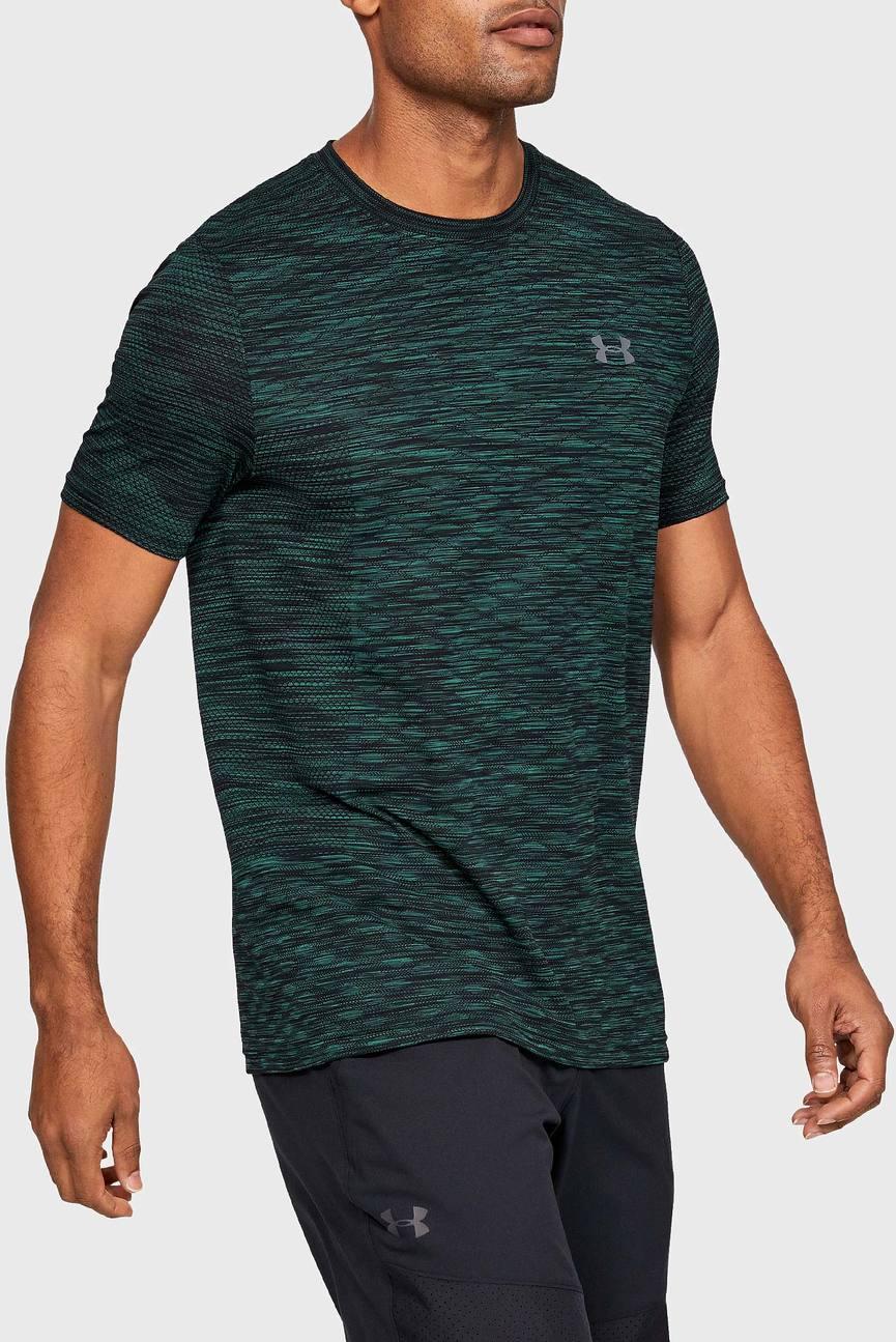 Мужская зеленая футболка Vanish Seamless SS Novelty