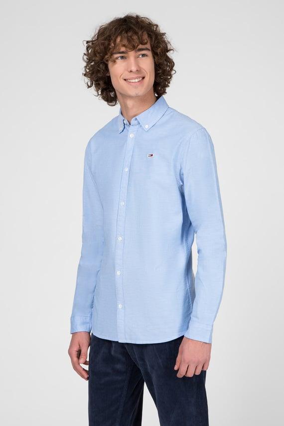 Мужская голубая рубашка TJM STRETCH OXFORD