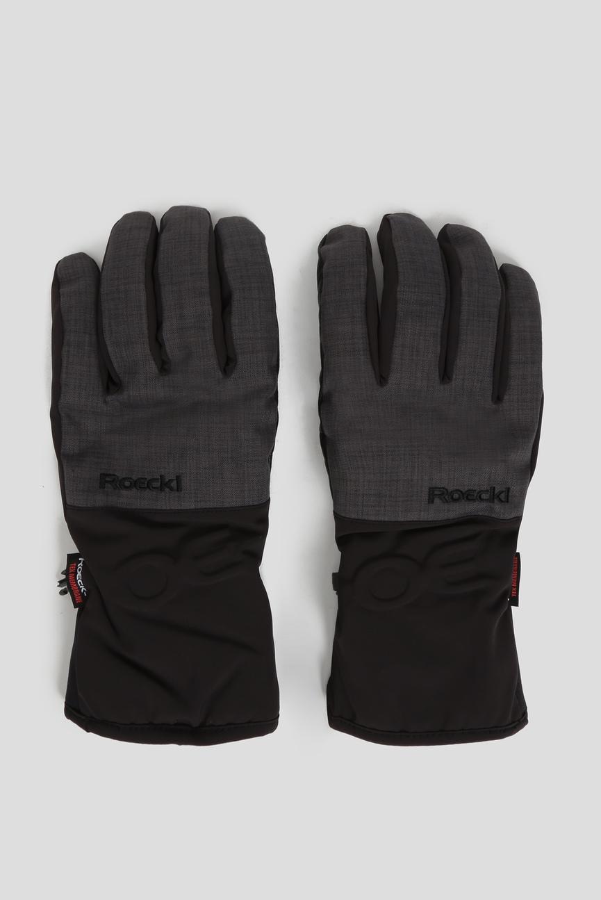 Мужские черные перчатки KASAAN