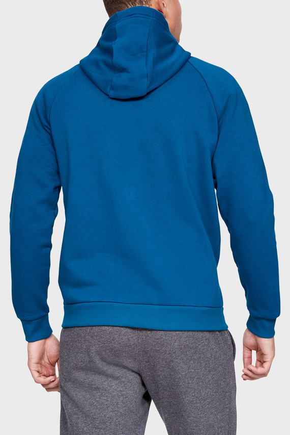 Мужское синее худи RIVAL FLEECE FZ