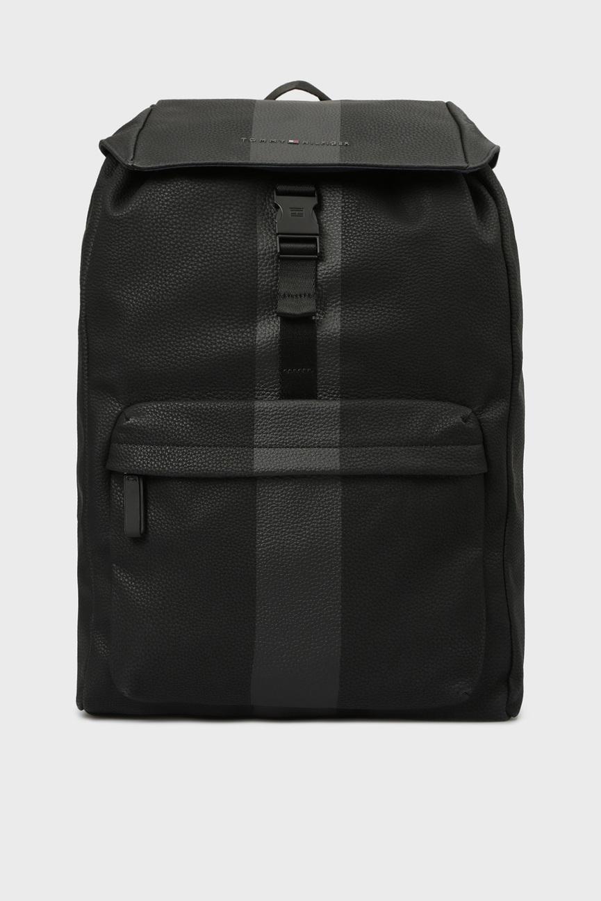 Мужской черный рюкзак BLOCK STRIPE