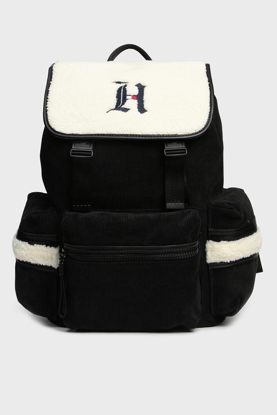 Мужской черный вельветовый рюкзак LH ALL TERRAIN